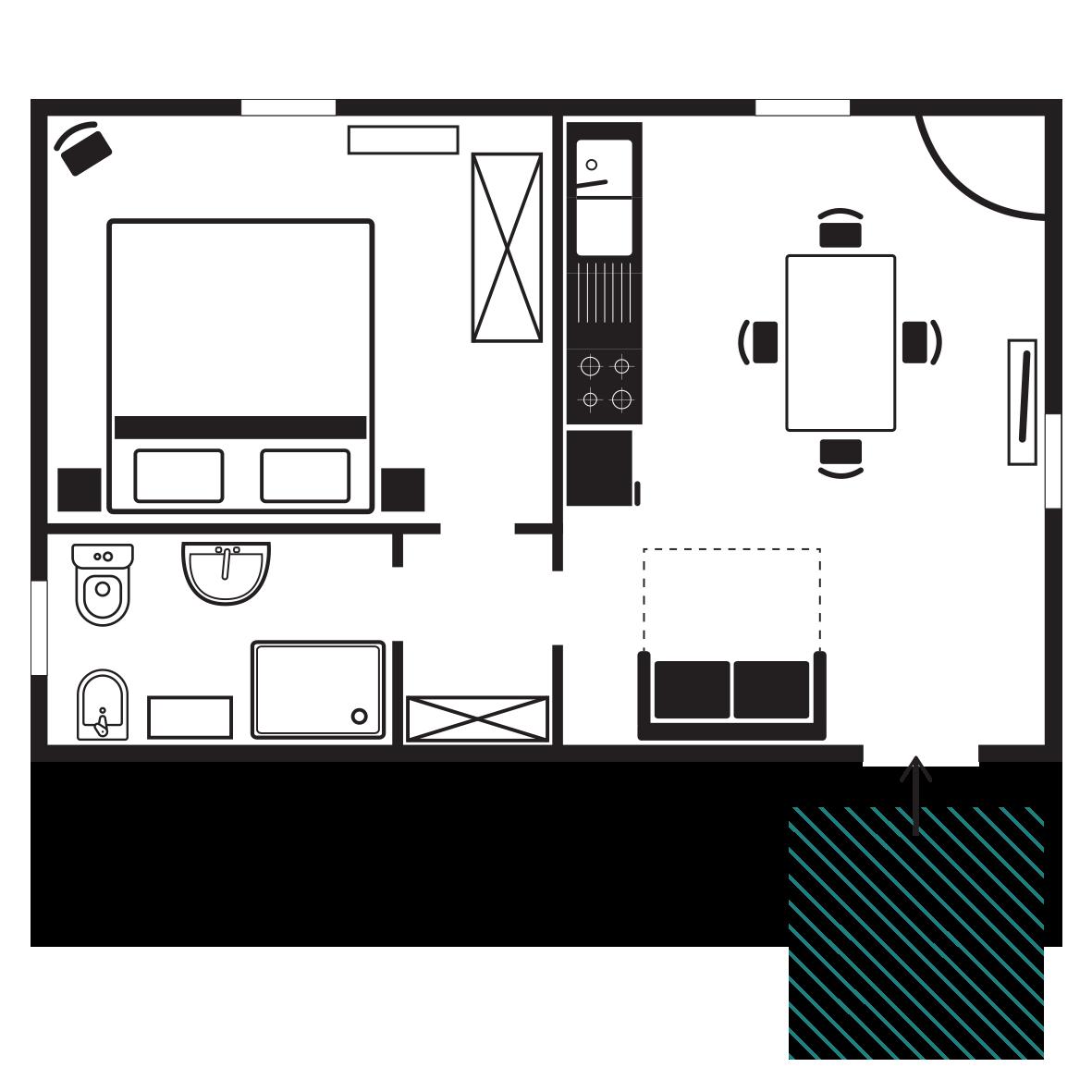 appartamenti_pianta girasole_ agriturismo_ tab